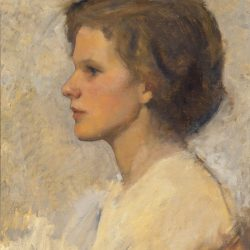 338 Portret van een jonge vrouw (Wini Goedhart)