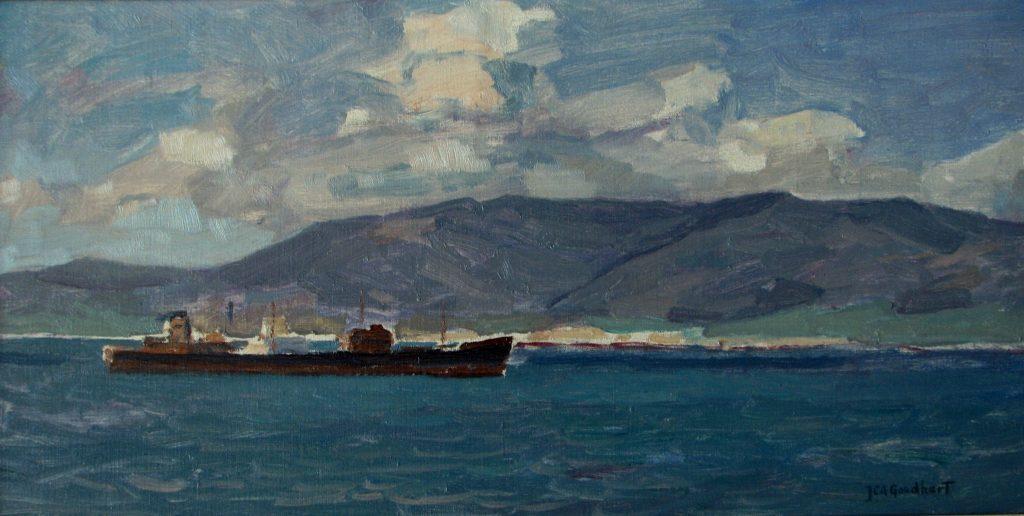 132 Scheepvaart langs de Noord-Afrikaanse kust