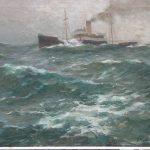 342 Stoomvrachtschip op hoge zee